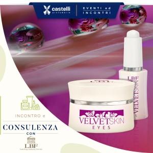 Prenota la tua consulenza personalizzata con i prodotti del marchio LBF Cosmetics