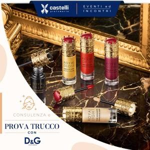 Prenota la tua prova trucco con i prodotti Dolce&Gabbana e scopri la nuova collezione Happy Holidays